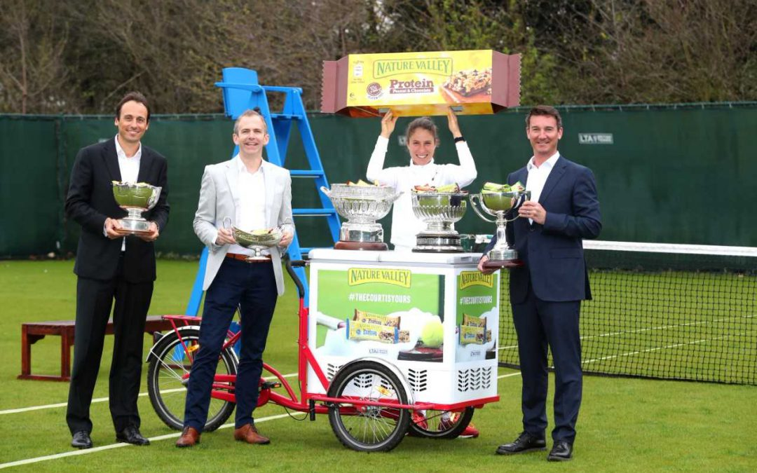 LTA ANNOUNCES NATURE VALLEY AS TITLE SPONSOR FOR ICONIC GRASS COURT EVENTS IN NOTTINGHAM, BIRMINGHAM AND EASTBOURNE…