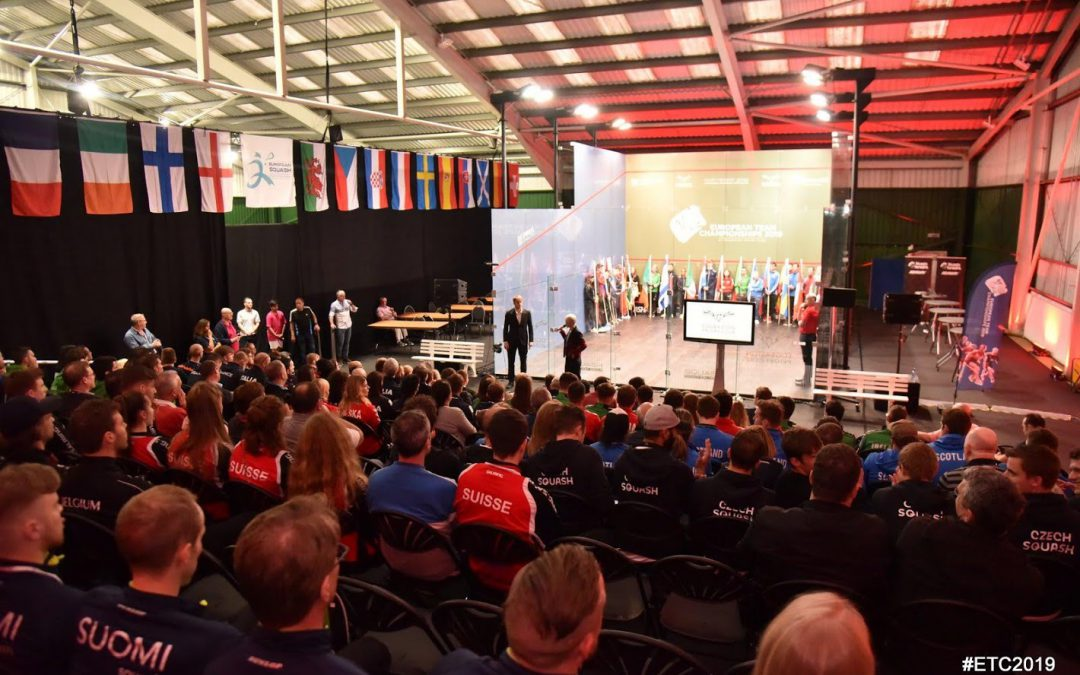 THE 2019 EUROPEAN TEAM CHAMPIONSHIPS IS DECLARED OPEN