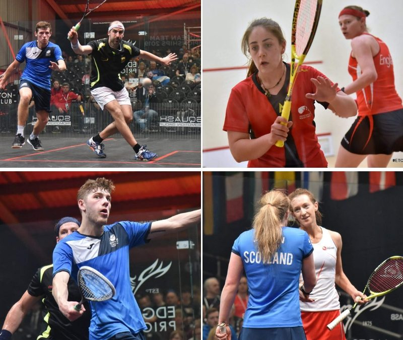 #ETC2019 DAY 1 – GREAT DAY FOR SCOTLAND AS TOP SEEDS BOOK SEMI-FINAL SPOTS