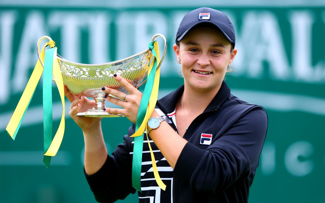 BARTY LIFTS MAUD WATSON TROPHY TO GO TOP OF THE WORLD