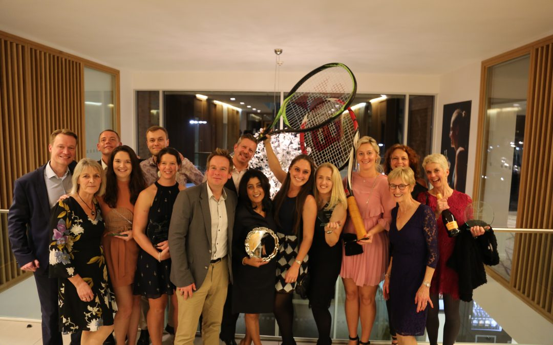 2019 Tennis Awards Winners