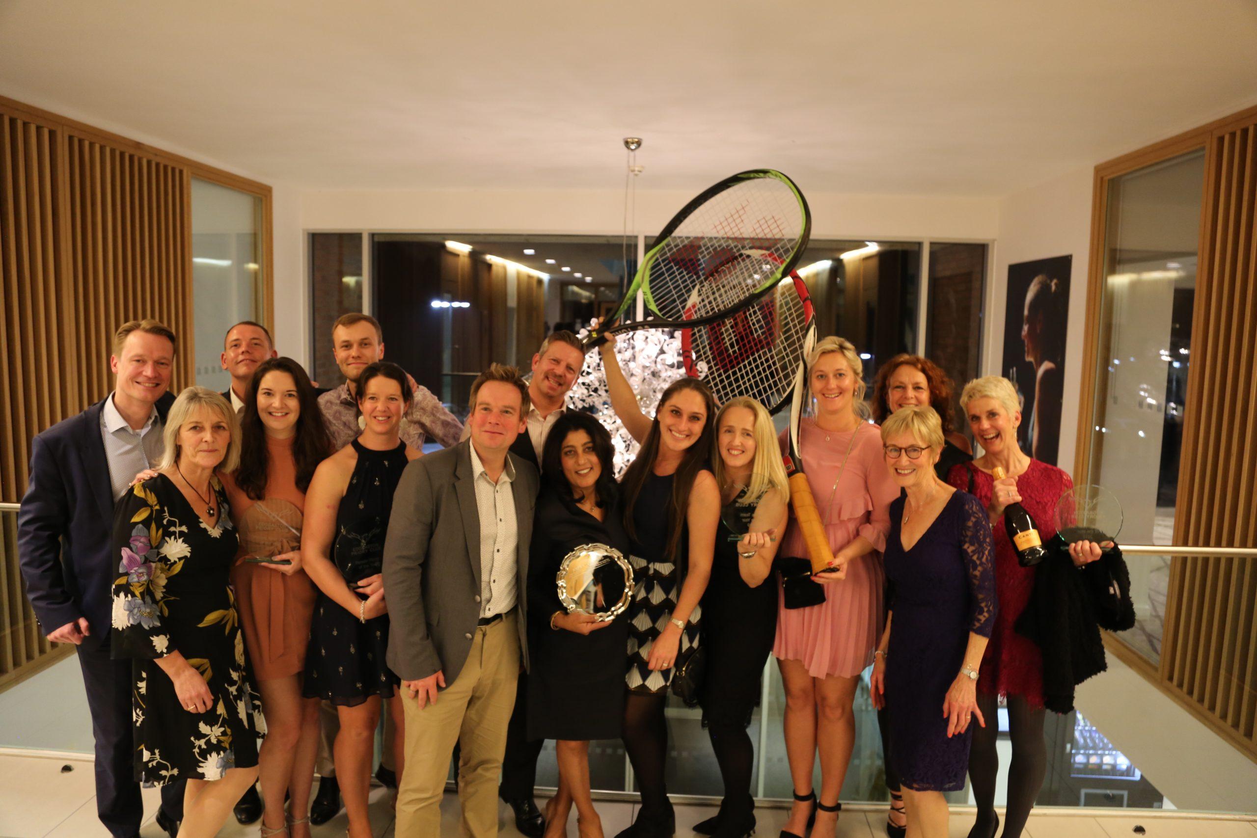 Tennis Awards winners