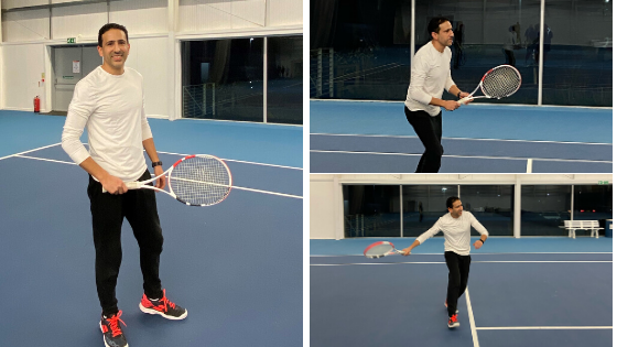 HOW #TENNISTIME GOT ZIA HOOKED ON TENNIS