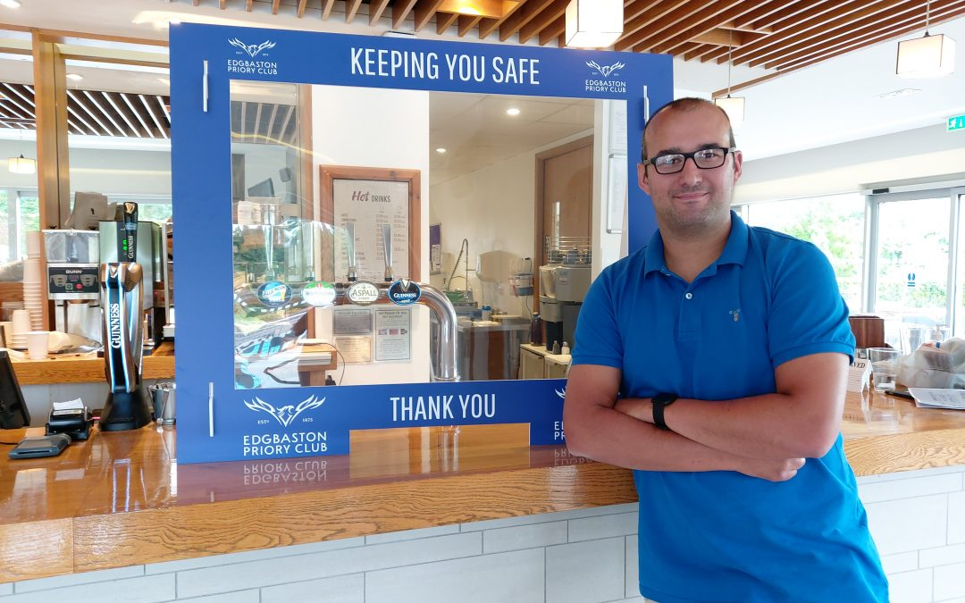 CLUBHOUSE REOPENS FOR FOOD AND DRINK