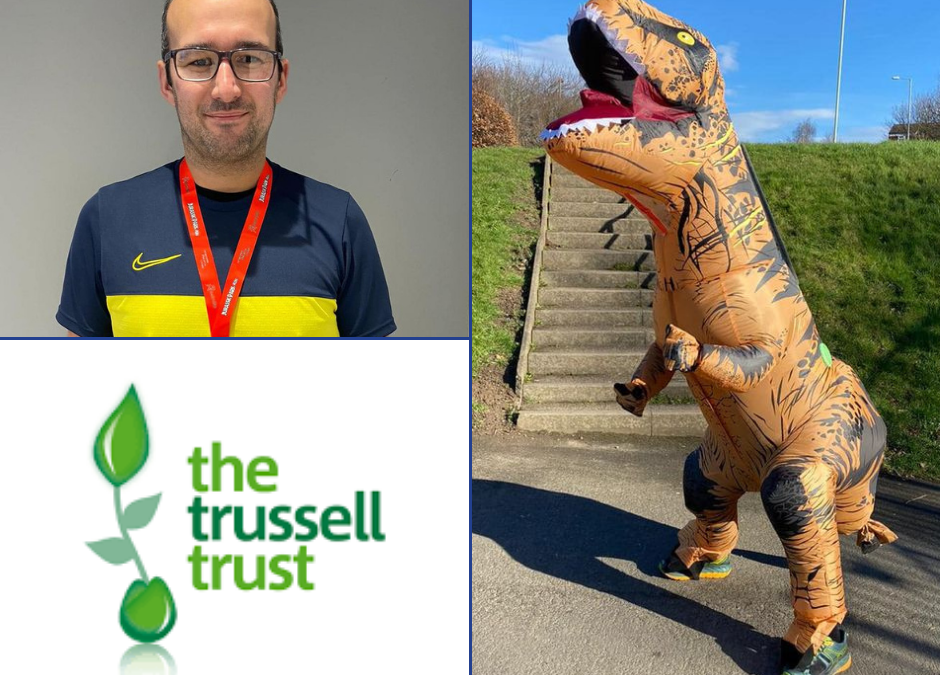 BAR & BISTRO MANAGER'S T-REX CHALLENGE TO MAKE UK HUNGER EXTINCT